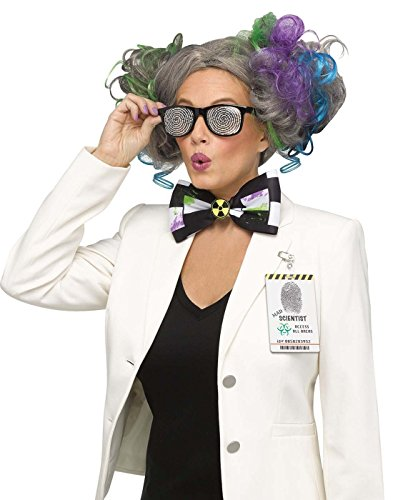 Fun World Twisted Sister Instant Adult Mad Scientist Character Kit Adult One (Women Scientist Costume)
