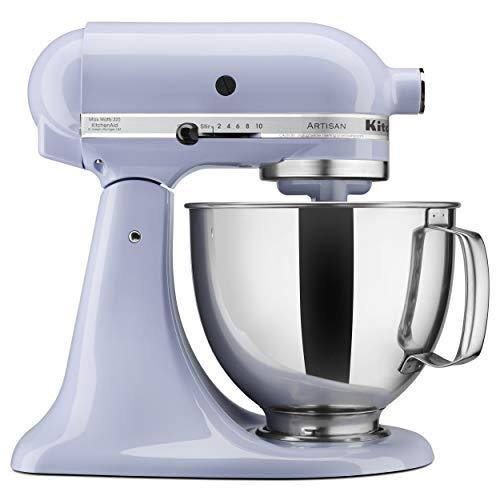 KitchenAid KSM150PSLR Artisan Series 5-Qt. Stand Mixer with Pouring Shield - Lavender Cream (Cooks Essentials Mixer)