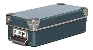 Cargo Naturals Pencil Box, Bluestone, 3 by 9-1/2 by 4-1/2-Inch