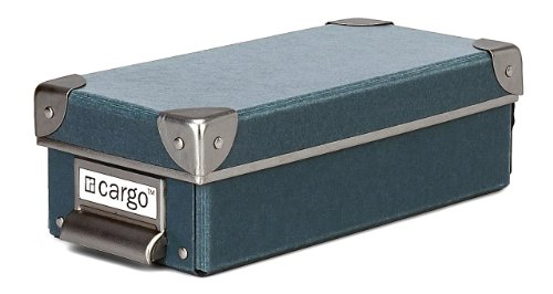 Cargo Naturals Pencil Box, Bluestone, 3 by 9-1/2 by 4-1/2 ...