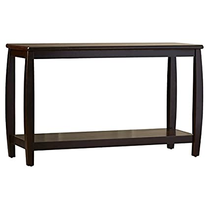 Superieur Modern Entryway Living Room Console Table With Open Storage Shelf, Wood  Construction, Brown Color