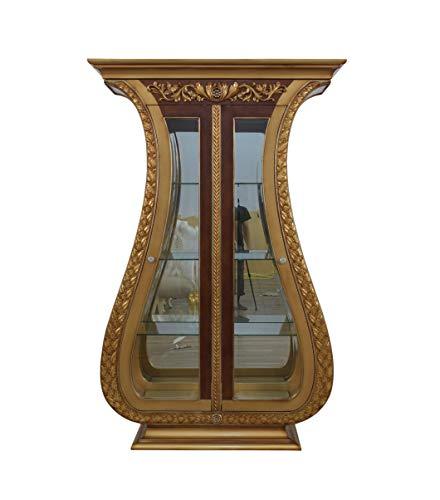 (Maggiolini 2 Door Curio Cabinet)