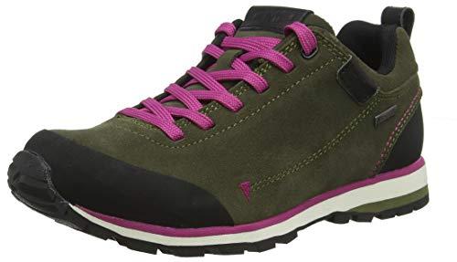 Mujer Para Low Zapatos De olive Senderismo F819 Cmp Rise Elettra wSqUq0H