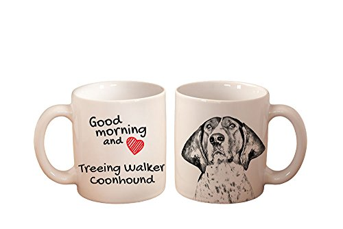 Treeing Walker Coonhound, mug with a dog, high quality, cup, ceramic, new (New Treeing Walker)