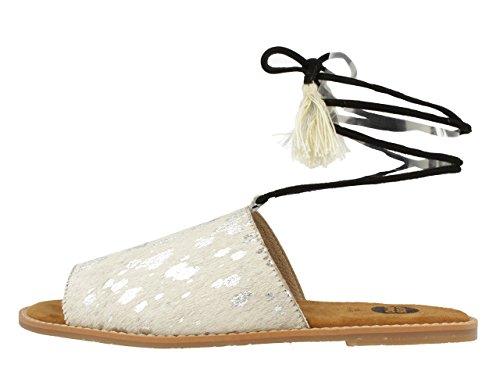 Gioseppo 39982, Sandales femme Blanc