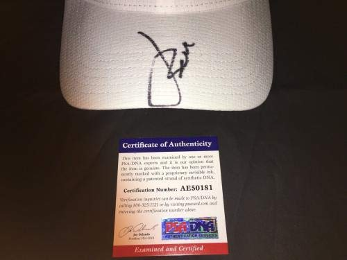 Jordan Spieth Signed Official Under Armour Hat Ryder Cup USA PSA/DNA Certified Autographed Golf Hats and Visors