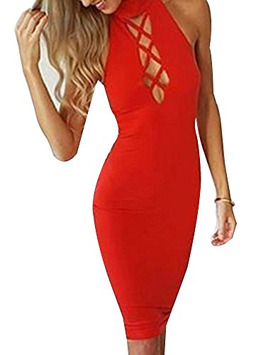 Allegrace Sleeveless Bodycon Cocktail Evening