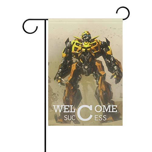 rmers Bumblebee Desert Battle Welcome Garden Flag Vertical Double Sided Yard Flags Outdoor Decorative House Yard Flag 12x18 Inch Polyester Durable ()