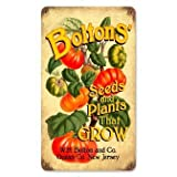 Past Time Signs PTS082 Boltons Seeds Food And Drink Vintage Metal Sign