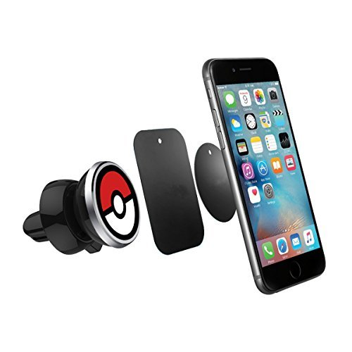 Mifa - Universal Magnetic Magnet cell phone Car Holder Mount Cradle Air Vent Mount Hands-free for iPhone 5 6 6s 7 7s Plus S5 S6 S7 Android Smart Phone - made for Pokemon Go Player