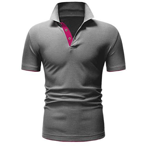 - Mens Summer t Shirts Short Sleeve Tronet Fashion Mens Letter Printing Shirt Short Sleeve Casual T-Shirt Blouse Tops