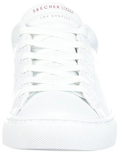 Blind Zapatillas Is Love Blanco Mujer para Skechers Side Street White wHqRxn6W1