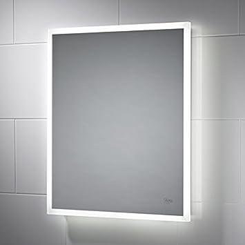 Taron LED Bathroom Mirror 400mm x 500mm  with built in demister pad and  motion. Taron LED Bathroom Mirror 400mm x 500mm  with built in demister