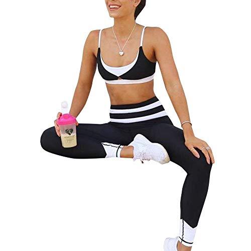 Talle Deportivos De Alto Elástico Mujer Negro Fashion Medias Ropa Gimnasio Pantalones Hx Yoga Basic Puntos Leggings wqCXnxE8