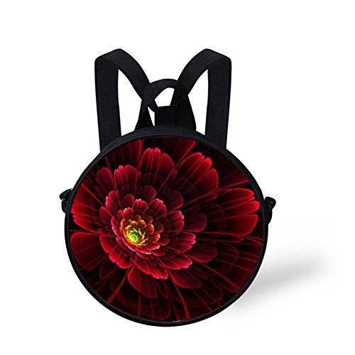Bag FancyPrint Print Flowers Round Shoulder Nyec0093i Round Bag qn6ZUw