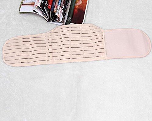 1PCS-Beige-Striped-Style-Adjustable-Elastic-Abdominal-Binder-Postnatal-Belly-Waist-Slim-Slimming-Shaper-Back-Support-Girdle-Belt-Pregnancy-Recoery-Shapewear-Abdomen-Corset-Staylace-for-Women