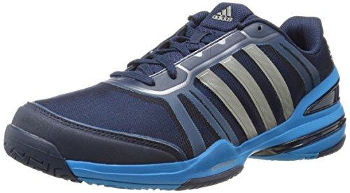 adidas Performance Men's CC Rally Comp Tennis Shoe, Collegiate Navy/Collegiate Navy/Solar Blue, 12 M US