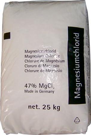 Anticongelante en grano, saco de 25 kg, cloruro de magnesio, para recintos de equitación, hasta -30 °C: Amazon.es: Jardín