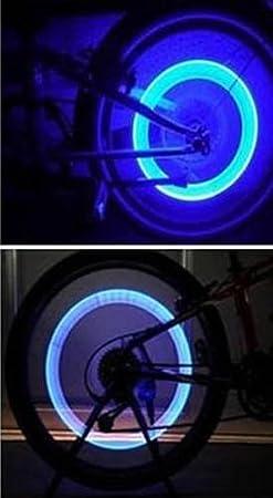 Luces Led para Válvula de Rueda de la Moto, Bici, Bicicleta, 2 Unidades 5904: Amazon.es: Deportes y aire libre