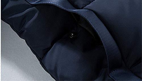 Da Addensato Abiti Fashion Comode Taglie Trapuntato Pelliccia In Invernale Cappuccio Hx Parka Giacca Weste Uomo Con Esterna CUt7qZ