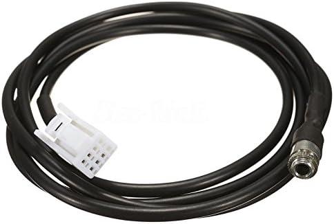 新しい1.5メートルのaux入力オーディオケーブルメスパネルマウントソケットに適しスズキエスクードsx4