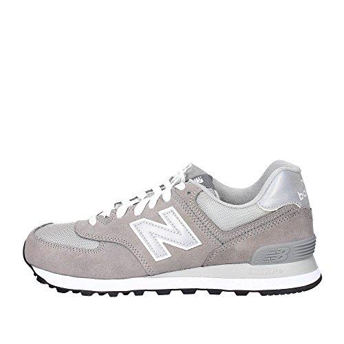 New Balance 574 Men's Sneakers Grey/Gray - 8 D - Grey/Silver/White (New Balance 576)