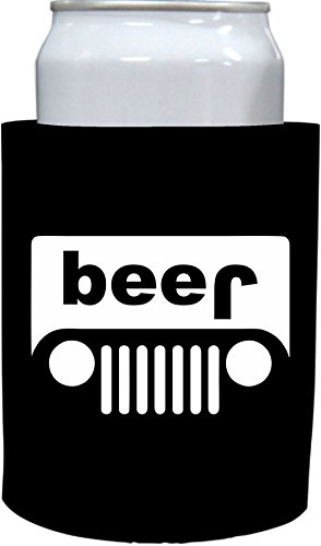 Coolie Junction Beer Truck (jeep) Thick Foam Can Coolie (1)