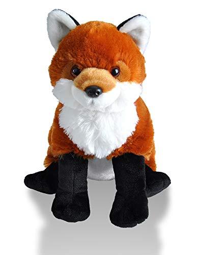 41HJJ5nO%2BEL - Wild Republic Red Fox Plush, Stuffed Animal, Plush Toy, Gifts For Kids, Cuddlekins 12 Inches