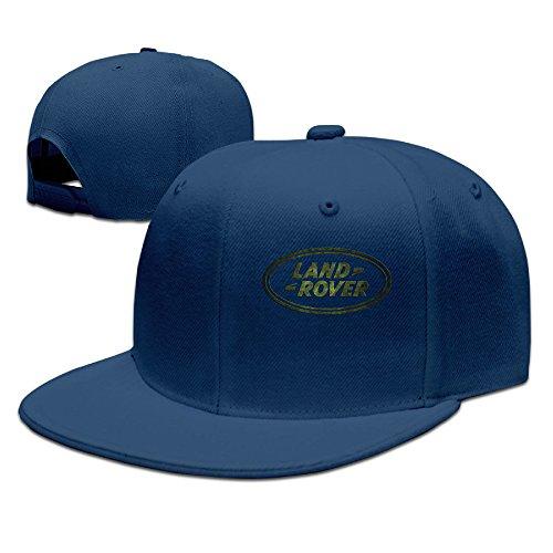 - ZOENA Land Rover Logo Cotton Hats Golf Cap Hat For Outdoor Sports Navy