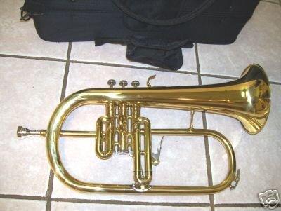 Flugelhorn with trigger, Gold