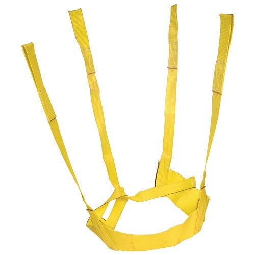 A.M. Leonard Nylon Self-Adjusting Tree Tote Plant Lift Sling - 54-66 Inches, Yellow