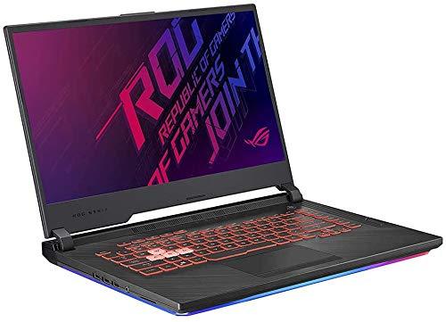 "2020 ASUS ROG Strix G 15.6"" FHD LED Gaming Laptop Computer, Intel Core i7-9750H, Backlit Keyboard, GeForce GTX 1650 Graphics, HDMI, Windows 10, Black+CUE Accessories (16GB RAM | 1TB HDD + 256GB SSD)"