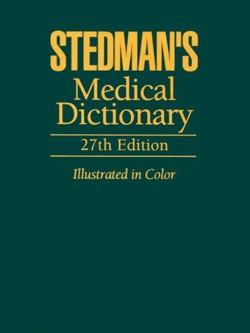 Stedman's Medical Dictionary pdf