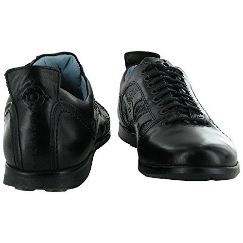 Steven by Steve Madden Mens Konrad Casual Walking Shoe Black fLgiM7D