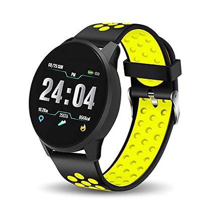 HFXLH Smart Bracelet Women Men Fitness Tracker IP67 Waterproof Smart Wristband Blood Pressure Monitor Pedometer health Sport Watch Estimated Price £49.58 -