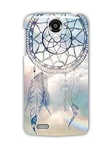 Tomhousomick Case Cover for Lenovo S820 Dream Catcher Ethnic Tribal Dreamcatcher