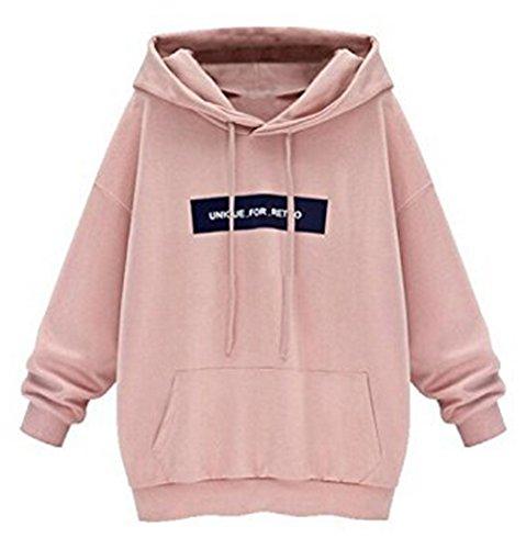 Damen Sport Kapuzenpullover Hoodie Sweatshirt Pullover