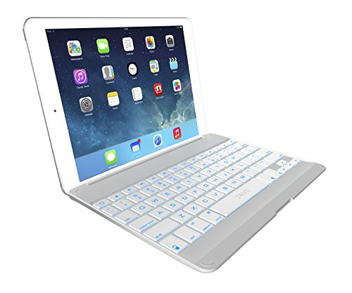 ZAGG Cover, Backlit, hinged, Bluetooth keyboard for iPad Air
