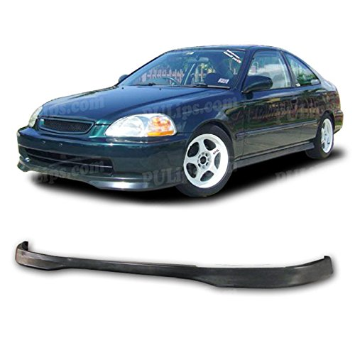 Civic Type R Front Bumper - PULIps HDCV960TRFAD - Type-R Style Front Bumper Lip For Honda Civic 1996-1998
