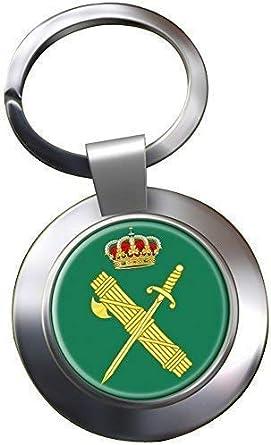 UK Giftshop Guardia Civil Llavero Cromado: Amazon.es: Ropa y accesorios