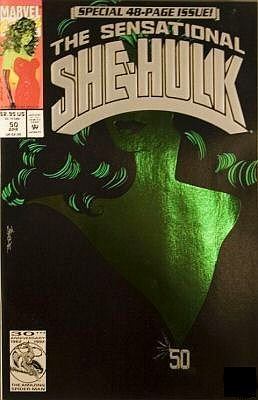 The Sensational She-Hulk #50 (He's Dead?!, Volume 2)