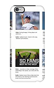 5900971K137983626 san diego padres MLB Sports & Colleges best iPhone 6 Plus cases