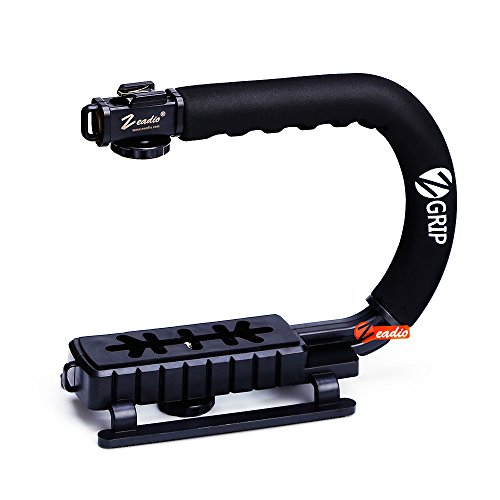 zeadio-c-grip-stabilizing-stabilizer-handle-grip-with-accessory-shoe-for-camera-camcorder-dslr-dv-vi