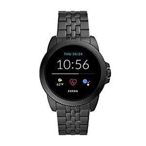 Fossil Men's Gen 5E 44mm Stainless Steel Touchscreen Smartwatch with Speaker, Heart Rate, Contactless Payments and…
