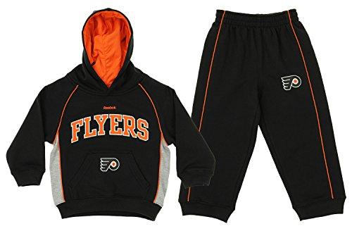 Reebok NHL Toddler's Philadelphia Flyers Classic Fan Fleece Set, Black 2T