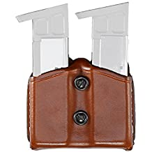 Aker Leather 616 Carry Comp II Double Magazine Pouch