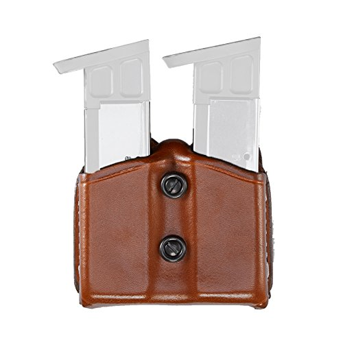 Aker Leather 616 Carry Comp II, Double Magazine Pouch