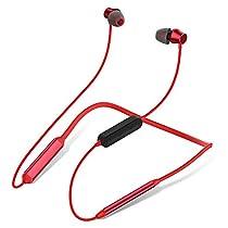 Bluetooth イヤホン ワイヤレスイヤホン マグネット搭載 CVC6.0 ノイズキャンセリング搭載 首掛け型 スポーツ用 ランニング 低音重視 iPhone &Android 対応 Bluetooth ヘッドホン