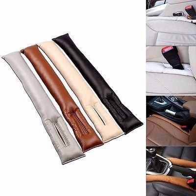 FidgetFidget 2 PU Leather Seat Gap Filler Slot Plug Leakproof Protective for Mercedes-Benz