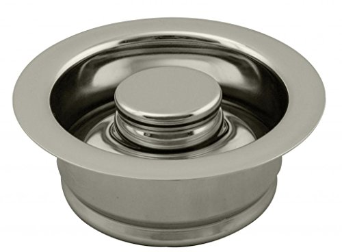 Westbrass InSinkErator Style Disposal Flange & Stopper, Polished Nickel, D2089-05 by Westbrass (Image #3)